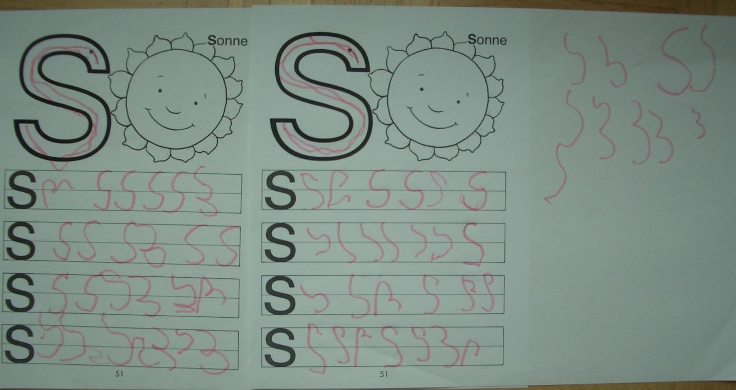 Eine Dreijährige will schreiben (Kurzfassung) | IHVO