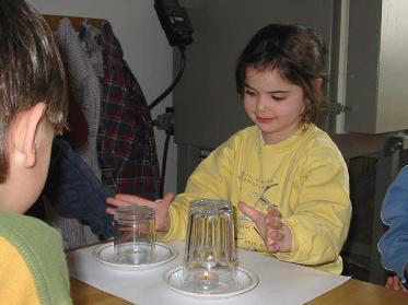 experimentieren mit kindern natur