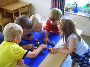 thema blätter im kindergarten